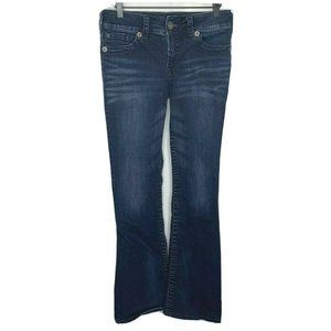 Silver Jeans Womens Suki Fit Blue Jeans Bootcut